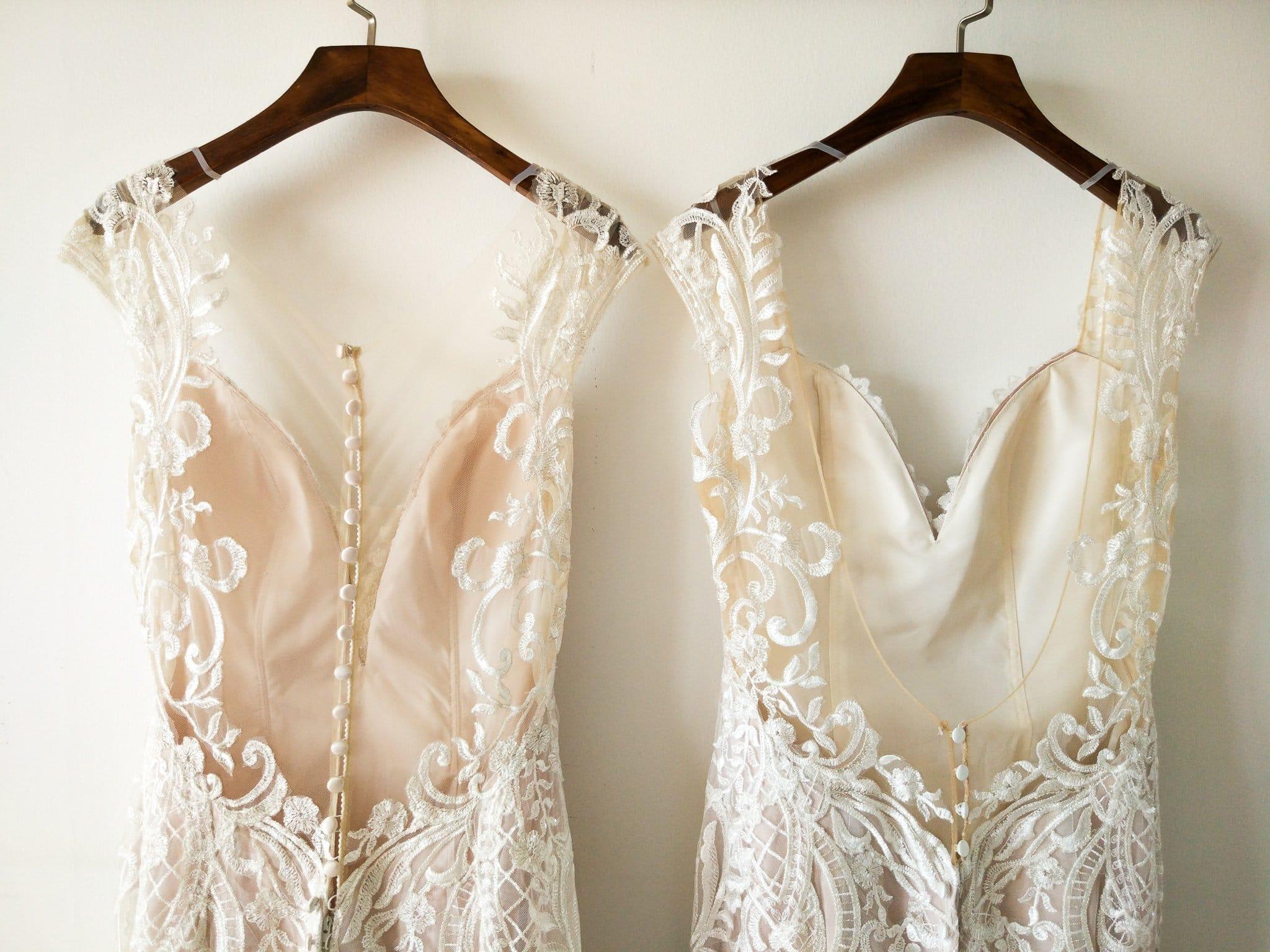 Custom back options, Grace + Ivory Stella Dress