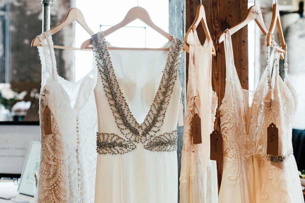 Kansas City The Big Fake Wedding Grace and Ivory Dresses