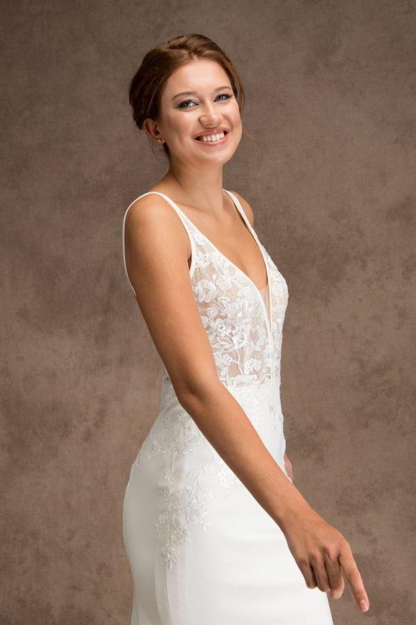 Grace and Ivory Cassandra Wedding Dress