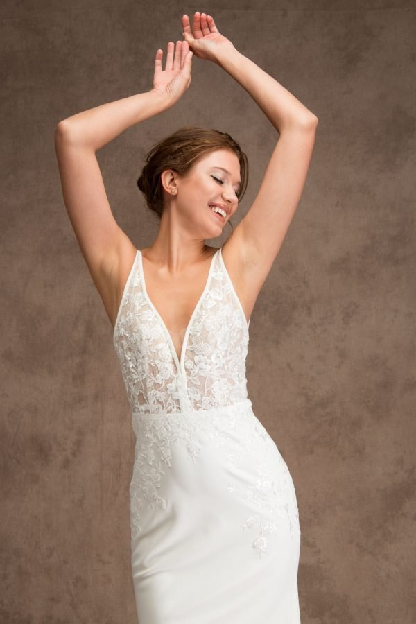 Grace and Ivory Cassandra Wedding Dress