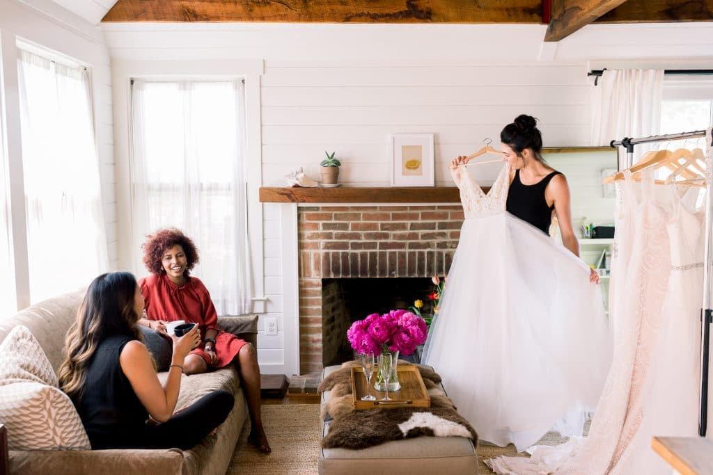 try-at-home wedding dress