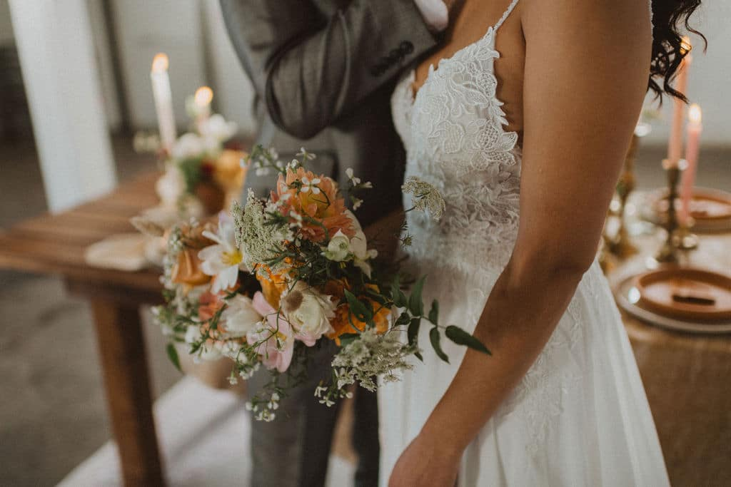 boho wedding - Lacy dress