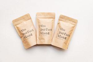 Coffee wedding favor bags.