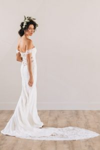 Melody Wedding dress from Grace+Ivory